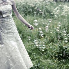 Bride and Bubbles