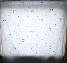 Irish Vintage Embroidered Table Cloth and 2 by kaftansarafan, $37.00