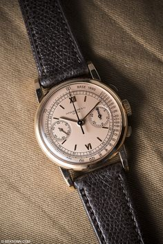 The super rare Patek Philippe ref. 1506 in pink-gold from the upcoming phillipswatches
