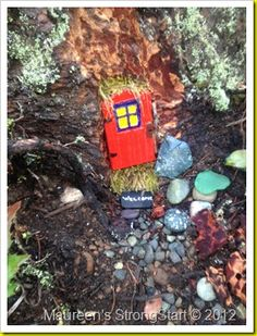 Fairy Doors - found in Cumberland!….and randomly on Pinterest!!!  :)