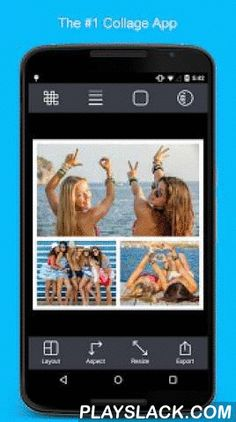 Pic Stitch - #1 Collage Maker  Android App - playslack.com ,  Quickly combine multiple photos into one beautifully framed picture! Be creative and get all the angles, capture all the looks, see all the faces together in one layout with the Pic Stitch collage maker.Pic Stitch packs a simple design with a powerful editor to give you everything you could possibly want to make your photo's even more amazing. Creating a grid layout is easy! Choose from hundreds of layouts, or make your own. Take…