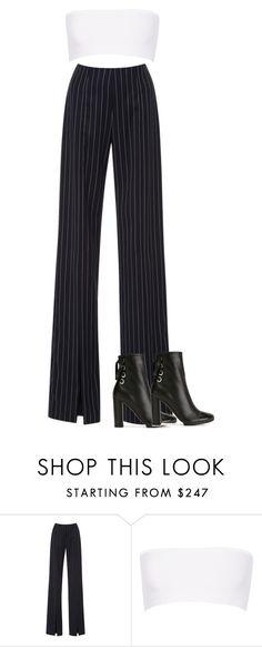 """Untitled #308"" by klhowe ❤ liked on Polyvore featuring Jonathan Simkhai, Balmain and Proenza Schouler"