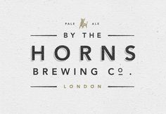 By the Horns Brewing Co. logo. Via Graphic ExchanGE.