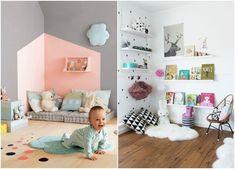 Kids Room Decoration // Nursery decoration // Méthode Montessori, adapter le mobilier de la chambre de bébé
