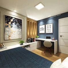 Diversas dicas para quem quer decorar um quarto de solteiro! Tudo que não pode faltar, como a cama para dormir confortável, armário, estante, rack para tv, e diversas dicas de decoração para um quarto de solteiro ideal.