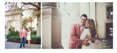 Miami engagements. Miracle Mile.  Jordan Burch Photography.