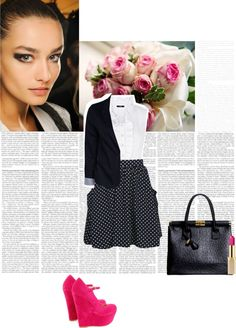 """""""How Do You Style Skater Skirts?"""" by alaria on Polyvore"""