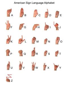 word work: sign language
