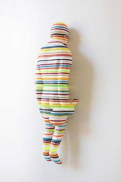 Kyotaro Hakamata multi colored sculptures.