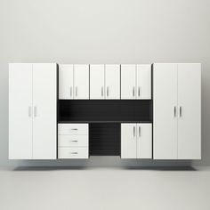 Jumbo Deluxe Workstation in Black and White $2,299.99