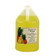 Cuticle Oil - Pineapple~Yellow Carotene, Vitamin E~Unity Beauty  1 GALLON~NEW #CuticleOilPineappleYellowCaroteneVitaminE