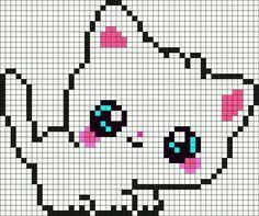 DIY this Superduper Cute Baby Giraffe Perler Hama Beads Pattern / Bead Sprite from Kandi Patterns.perfect for Cross Stitching! Pearler Bead Patterns, Kandi Patterns, Perler Patterns, Beading Patterns, Embroidery Patterns, Crochet Patterns, Cross Stitching, Cross Stitch Embroidery, Cross Stitch Patterns
