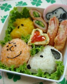 スヌーピー弁当 Snoopy Bento