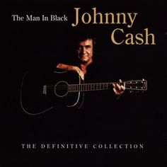 """Johhny Cash had als bijnaam """"Man in black"""", dit kwam omdat hij meestal zwarte kleding droeg."""