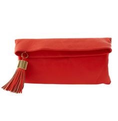The Carmen Clutch in Flamingo // 274.00 // India Hicks Ambassador, Renee Peters // India Hicks