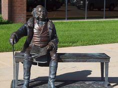 Martin Van Buren Statue, Presidents Tour, Rapid City, South Dakota - 8th President of the United States of America