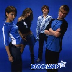 Erreway - Camila Bordonaba, Lu Lopilato, Felipe Colombo And Benjamin Rojas