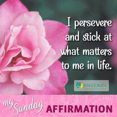Time for your weekly affirmation!