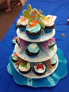 Amazing sea creature cupcakes!!