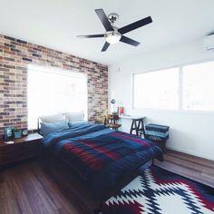 ORANGEHOUSEさんの、男前,ベッド周り,のお部屋写真