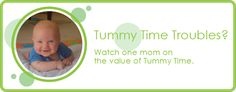 Tummy time troubles? Watch one mom on the value of tummy time