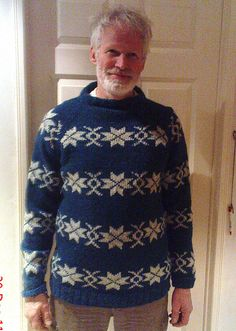 Ravelry: Soksia's blue sarah lund sweater