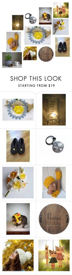 """Un raggio di sole"" by acasaconmanu ❤ liked on Polyvore"