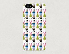 Tina and Louise Belcher from Bobs Burgers Cartoon Show iPhone 4 4s 5 5s 5c Samsung Galaxy S3 S4 Case on Etsy, $21.12