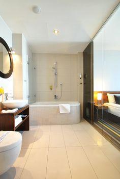 Bathroom in Bayjonn. Hotel in Sopot