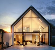Top 13 Modern House Designs Ever Built! - futurian- Top 13 Modern House Designs Ever Built! – futurian Phenomenal Top 13 Modern House Designs Ever Built! Modern Barn House, Modern House Design, House Architecture Styles, Modern Architecture, Computer Architecture, Fashion Architecture, 3d Architectural Visualization, 3d Visualization, Dome House