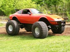 Here is another shot of this Opel GT. From what I have heard, the GT this was made from was just about un-saveable.