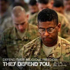 """Who Would Describe Christians in the Military as """"Monsters who Terrorize""""? - Join the ACLJ in sending a message to President Obama and Secretary of Defense Hagel, that this type of attack on the faith of our brave men and women in uniform should not be tolerated.  Take a stand to defend the religious freedom of those who are sacrificing everything to defend our freedoms.  Sign the petition to defend religious liberty in the military…"""