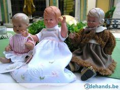 bijzondere combinatie: 3 Schildkröt-popjes