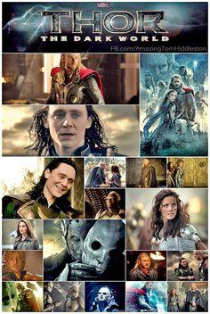 Thor: The Dark World collage by amazingtomhiddleston.com