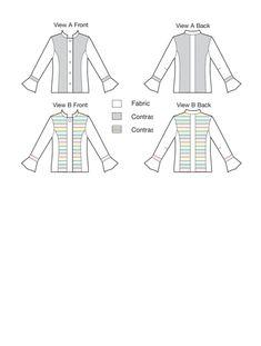 Kwik Sew Jelly Roll Jacket View 'A' K3918