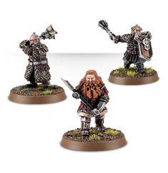 Nori the Dwarf, Dori the Dwarf and Gloin the Dwarf – Champions of Erebor