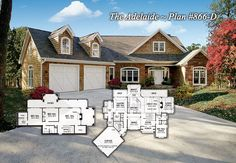 Plan of the Week - The Adelaide 866-D http://www.dongardner.com/plan_details.aspx?pid=2253 - Twin dormers, board-and-batten siding and stone add curb appeal to this charming Craftsman design. #HomePlan #Craftsman #Rustic