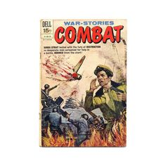 Dell 1971 Comic Book War-Stories Combat No.33 by SunStateVintage