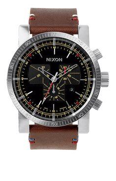 Magnacon Leather II - Black / Brown | Nixon