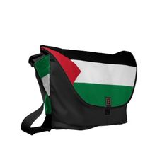 palestine flag commuter bags