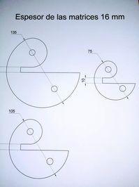 juego de matrices de 3/8 para dobladora de hierro herreria Metal Bending Tools, Metal Working Tools, Metal Tools, Metal Projects, Welding Projects, Metal Crafts, Art Fer, Metal Bender, Metal Shaping