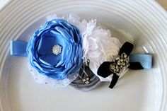 Cinderella inspired headband by JensBowdaciousBows on Etsy, $17.95