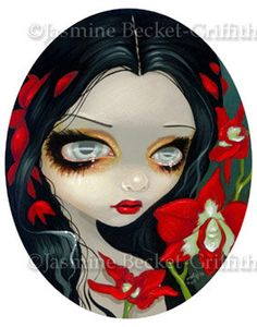 Blood Orchid by Jasmine Becket-Griffith