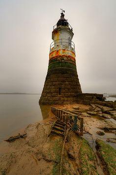 Plover Scar #Lighthouse - Cockerham, Lancashire, #England http://dennisharper.lnf.com/
