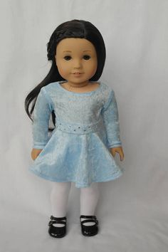 Sparkle Holiday Dress for 18-inch Dolls