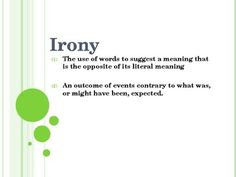 16 Best Irony Lessons Images Literary Terms Teaching Irony