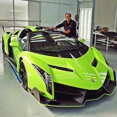 Que coisa perfeita   Lamborghini Veneno