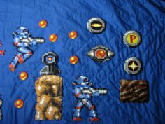 TURRICAN Perler Beads part 2 by Buck-Chow-Simmons