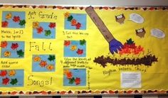 Fall Music Bulletin Board... something similar to this maybe