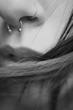 This isn't my nose, but I love my septum piercing. After I got it, I felt like it should have been there my entire life.